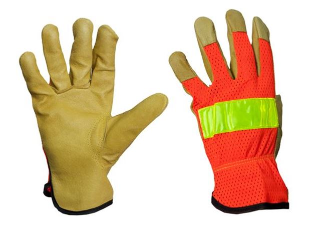 Picture of The Western Rigger  High Visibility Riggers Glove