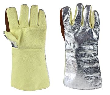 Picture of MagnaShield  Aluminised Aramid  Gloves - Woven Kevlar  Palm