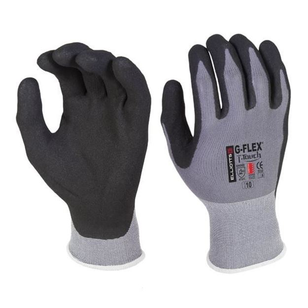 Picture of G-Flex  T-Touch Black Technical Safety Glove