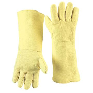 Picture of MagnaShield® Aramid  Glove - Woven Palm and Felt Back