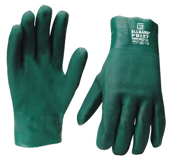 Picture of Green PVC Glove - Short