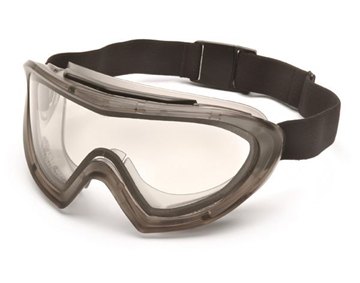 Picture of Pyramex Capstone Safety Goggles 500 Series - Clear Lens with H2X Anti-Fog Technology