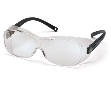 Picture of Pyramex OTS - Clear Lens with Black Frame