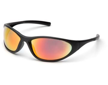 Picture of Pyramex Zone II - Ice Orange Mirror Lens with Matte Black Frame