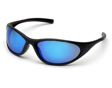 Picture of Pyramex Zone II - Ice Blue Mirror Lens with Matte Black Frame