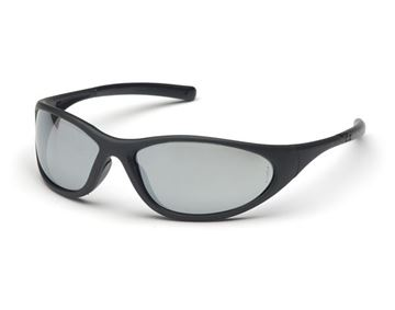 Picture of Pyramex Zone II - Silver Mirror Lens with Matte Black Frame