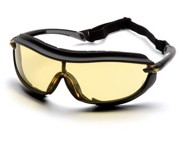 Picture of Pyramex XS3 Plus - Amber Lens with H2X Anti-Fog Technology
