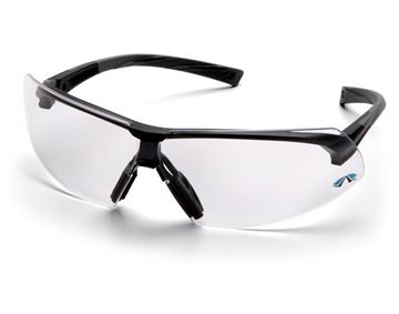 Picture of Pyramex Onix - Clear Lens with Black Frame and H2X Anti-Fog Technology