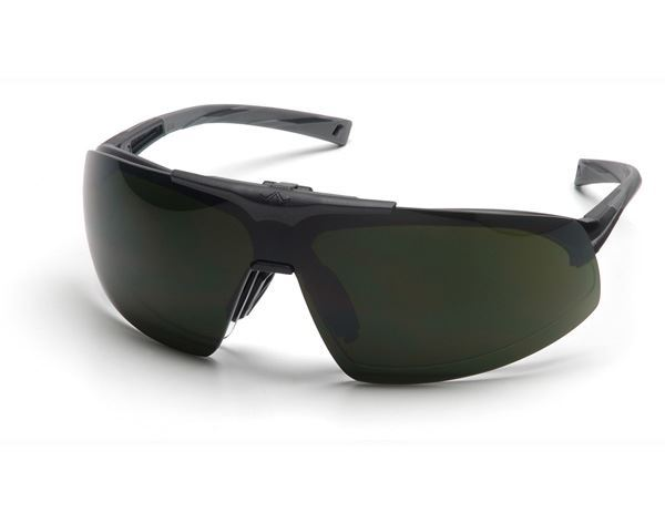 Picture of Pyramex Onix Plus with Clear Lens & Shade 5 Flip-Up Lens