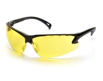 Picture of Pyramex Venture 3 - Amber Lens with Black Frame