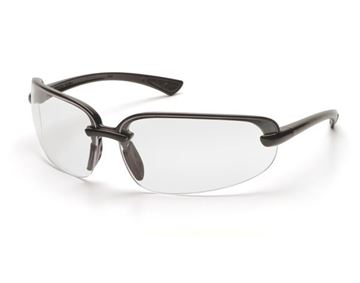 Picture of Pyramex Protocol - Clear Lens with Black Frame and H2X Anti-Fog Technology
