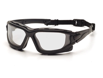 Picture of Pyramex I-FORCE Safety Glasses - Clear Lens with Black Frame