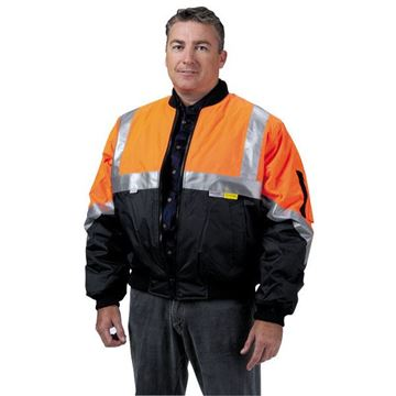 Picture of Flying Jacket - Orange/Navy Class D/N