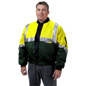 Picture of Flying Jacket - Yellow/Green Class D/N