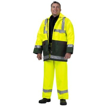 "Picture of Z40 ""4 in 1"" Jacket - Yellow/Green Class D/N"