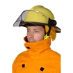 Wildland Firefighter Jacket and Helmet