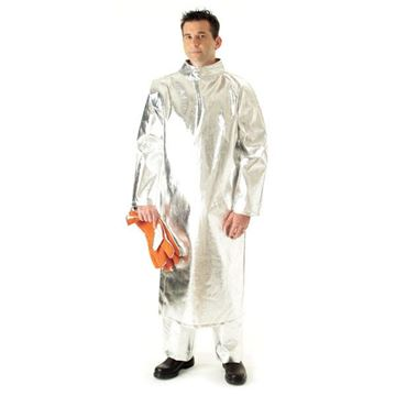 Picture of Aluminised Kevlar Coat - 1270mm (Long) Unlined