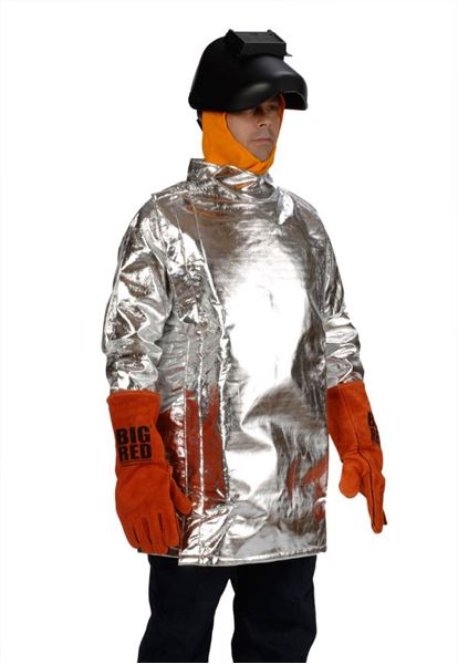 Picture of Aluminised Kevlar Coat - 910mm (Short) Lined