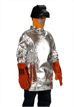 Picture of Aluminised Preox Coat - 910mm (Short) Lined