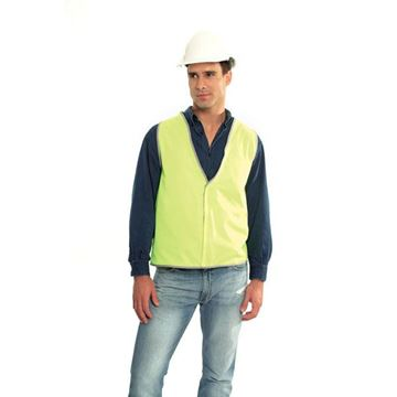 Picture of Safety Vest - Fluoro Yellow No Trim Class D