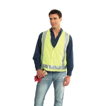 Picture of Safety Vest - Fluoro Yellow | Trim Style 2 | Class D/N