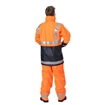 Picture of ZETEL  ArcSafe Wet Weather Trousers - Orange with Reflective Trim Class D/N