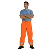Picture of Zetel ZX FRAS Wet Weather Trousers Z49 - Orange with Reflective Trim