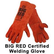 Picture of The Original Big Red Welding Glove now has Australian Certification