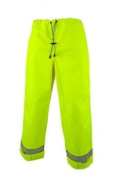 Picture of ZETEL  ArcSafe Wet Weather Trousers - Yellow with Reflective Trim Class D/N