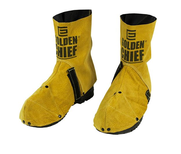 Picture of The GOLDEN CHIEF  Premium Leather Welder's Spats