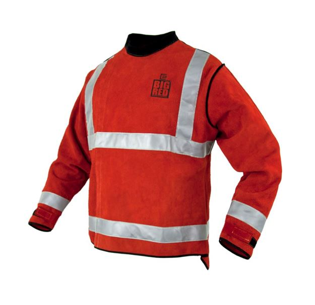 Picture of The BIG RED  High Visibility Welders Jacket