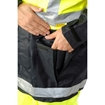Picture of Zetel XT Z59 Wet Weather Jacket - Fluoro Yellow/Navy with Reflective Trim
