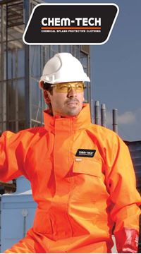 Picture of ChemTech Breathable Chemical Splash Protection