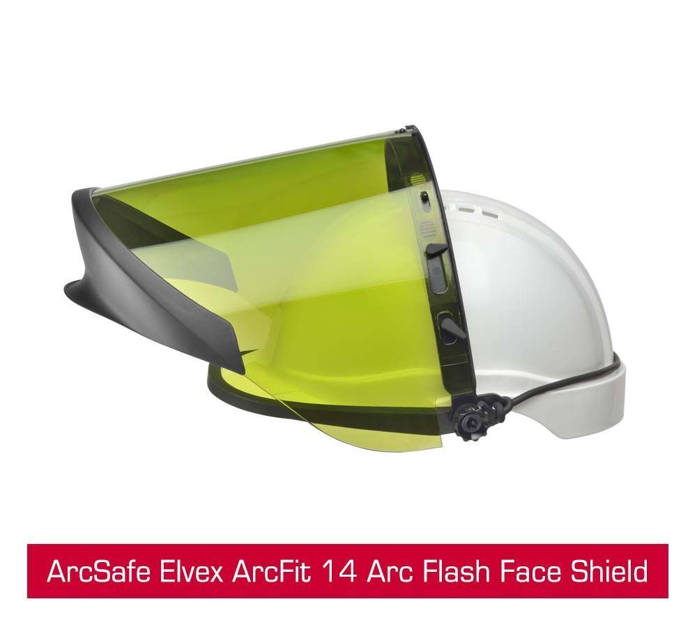 Picture of New ArcSafe Elvex ArcFit 14 Arc Flash Face Shield