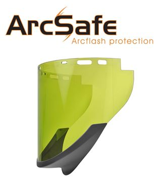 Picture of New ArcSafe Elvex ArcFit 14 Arc flash face shield.