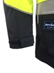 Picture of Zetel ArcSafe Z59 Wet Weather Jacket - Yellow/Navy with Reflective Trim LRG
