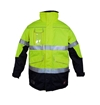 Picture of Zetel ZX FRAS 4-in-1 Wet Weather Jacket Z50 - Yellow/Navy with Reflective Trim