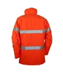 Picture of Zetel ZX FRAS Z59 Wet Weather Jacket - Fluoro Orange with Reflective Trim