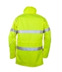 Picture of Zetel ZX FRAS Wet Weather Jacket Z59 - Fluoro Yellow with Reflective Trim