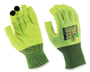 Picture of G-Flex® Dynamax® C5 AirTouch Fingerless Gloves - High Visibility
