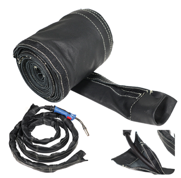 Picture of Welding Cable Covers - Black Grain Leather
