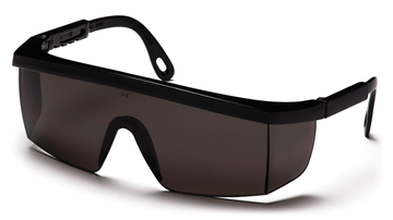 Pyramex Integra Safety Glasses with Gray Lens and Black Frame