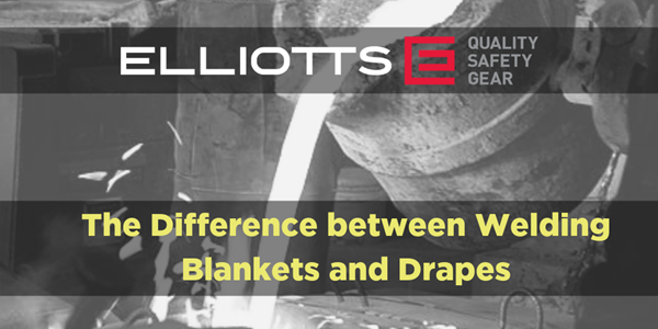 The Difference between Welding Blankets and Drapes