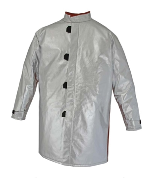 Picture of Foundry Jacket - 1000mm | Lined | Centre Closure Combo Action Back