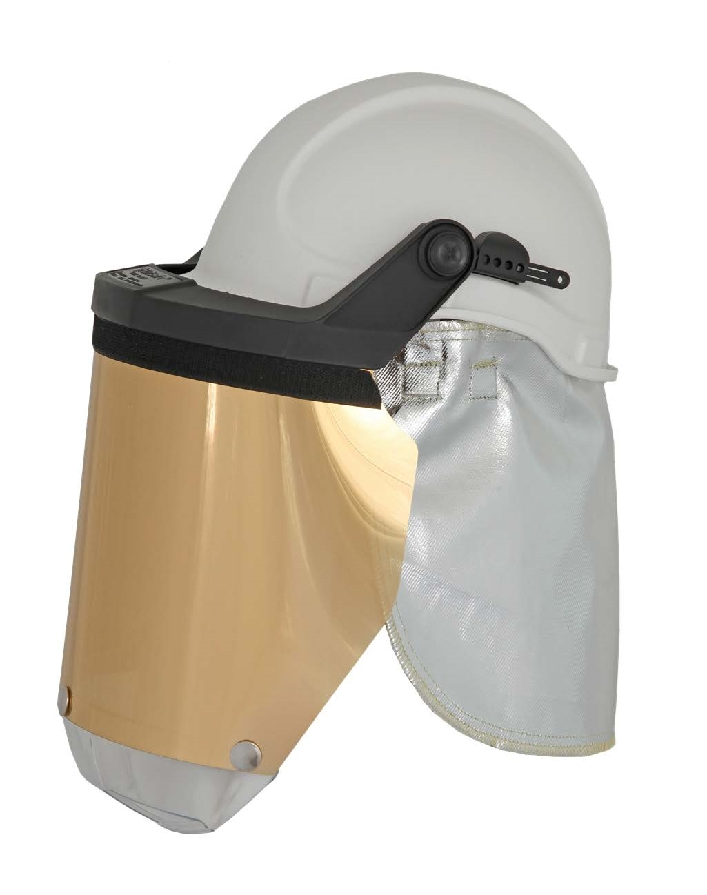 Foundry Face Shield and Aluminised Neck Flap