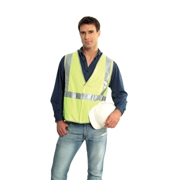 Picture of Safety Vest - Fluoro Yellow Trim Style 1 Class D/N