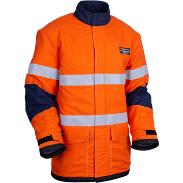 Picture of ArcSafe X50 Arc Flash Switching Jacket with Reflective Trim