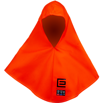 Picture of Extra Long Orange Proban Welding Hood