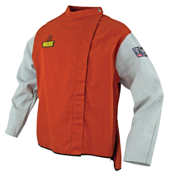 Picture of WAKATAC  Proban  Welding Jacket with Chrome Leather Sleeves