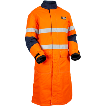Picture of ArcSafe® X50 Arc Flash Switching Coat with Reflective Trim